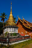 Phra That Lampang Luang. Wat Phra That Lampang Luang on the sky is clear Stock Photos