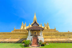 Phra That Luang Laos Royalty Free Stock Photos