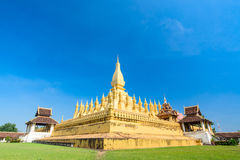 Phra That Luang Laos Stock Photos