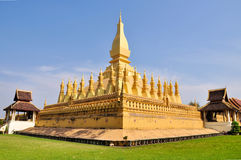 Phra that luang Stock Images