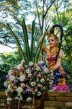 Phra Mae Thorani Vasundhara goddesna av jord Royaltyfri Fotografi