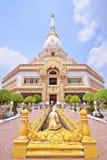 Phra Maha Chedi Chai Mongkol на Roi Et провинции, Таиланде Стоковое Изображение