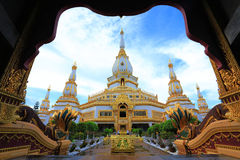 Phra Maha Chedi Chai Mongkol Royalty-vrije Stock Afbeelding