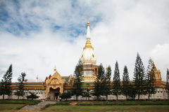 Phra Maha Chedi Chai Mongkol Стоковая Фотография