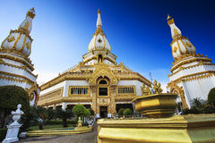 Phra Maha Chedi Chai Mongkol at Roi Et Province, Thailand Royalty Free Stock Photo