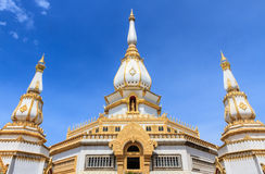 Phra Maha Chedi Chai Mongkol at Roi-Et ,Thailand Royalty Free Stock Photos