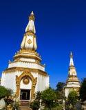 Phra Maha Chedi Chai Mongkol Temple Royalty Free Stock Image