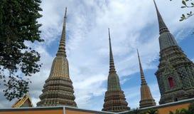 Phra Maha Chedi Si Rajakarn at Wat Pho , Bangkok Stock Photography