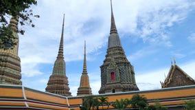 Phra Maha Chedi Si Rajakarn at Wat Pho , Bangkok Royalty Free Stock Photos