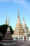 Phra Maha Chedi at Wat Pho, Bangkok. Royalty Free Stock Photography