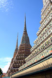 Phra Maha Chedi at Wat Pho, Bangkok. Stock Photography