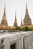 Phra Maha Chedi at Wat Pho, Bangkok Thailand Royalty Free Stock Photo