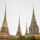 Phra Maha Chedi at Wat Pho, Bangkok Thailand Stock Photography