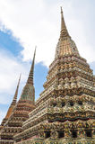 Phra Maha Chedi Wat Pho. With the colourful mosaics Royalty Free Stock Photography