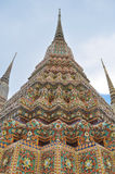 Phra Maha Chedi Wat Pho. With the colourful mosaics Stock Photography