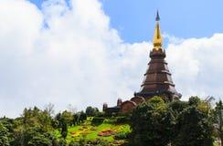 Phra Maha Dhatu Naphamethanidon, παγόδα Στοκ Φωτογραφίες