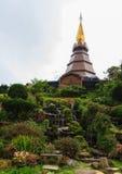 Phra Maha Dhatu Naphamethanidon, παγόδα Στοκ φωτογραφίες με δικαίωμα ελεύθερης χρήσης