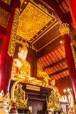Phra maha jakkraphat Statue in Ubosot Wat Raja Mon Thian Royalty Free Stock Photography