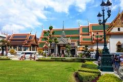 Phra Maha Monthien Palace Group en Royal Palace Bangkok, Tailandia fotografía de archivo libre de regalías
