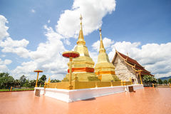 Phra Maha podbródka Thar jao montol sala świątynia, Lamphun Tajlandia Fotografia Stock