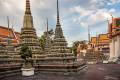 Phra Maha Stupa of Wat Phra Chetuphon in Bangkok Royalty Free Stock Photography