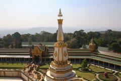Phra Mahachedi Chai Mongkhon Temple,Roi-Et Province, Thailand. Royalty Free Stock Image