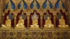 Phra Mahachedi Chai Mongkhon Temple,Roi-Et Province, Thailand. Stock Photos