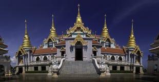 Phra Mahathat chedi Pakdee Prakard, Prachuap Khiri Khan, Thailand Stock Images