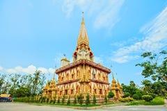 Phra Mahathat Chedi Wat Chalong imágenes de archivo libres de regalías
