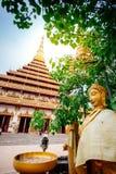 Phra Mahathat Kaen Nakhon Royaltyfria Foton