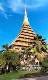 Phra Mahathat Kaen Nakhon Arkivfoto