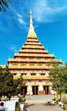Phra Mahathat Kaen Nakhon Στοκ Φωτογραφία