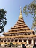 Phra Mahathat Kaen Nakhon Stock Photo