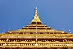 Phra-Mahathat-Kaen- Nakhon, Khon Kaen province, Thailand. Royalty Free Stock Images