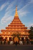 Phra Mahathat Kaen Nakhon, Khon Kaen Thailand Stock Photography