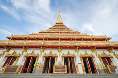 Phra Mahathat Kaen Nakhon temple (or Phra That Nong Waeng) - Tha Royalty Free Stock Photos