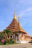 Phra Mahathat Kaen Nakhon. Wat nong wang,The most beautiful temple in Thailand - Khon Kaen Stock Photos