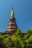 Phra Mahathat Napametanidon at Doi Inthanon Royalty Free Stock Photos