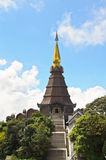 Phra Mahathat Napametanidon temple Royalty Free Stock Photos