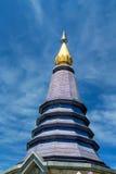 Phra Mahathat Napapolphumisiri in Doi Inthanon Royalty-vrije Stock Foto's