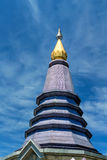 Phra Mahathat Napapolphumisiri at Doi Inthanon Royalty Free Stock Photos