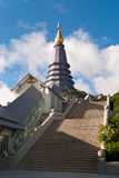Phra Mahathat Naphamethanidon Royalty Free Stock Photo
