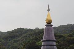 Phra Mahathat Naphamethanidon Royaltyfri Fotografi