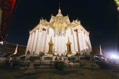 Phra Mondob o Hotepibtawy Trijaturamuk in Wat Pho Bangkok Immagine Stock