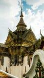 Phra Mondob på Wat Pho i Phra Nakhon områdesnärbild Royaltyfria Bilder
