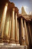 Phra Mondop columns Royalty Free Stock Photos