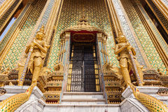 Phra Mondop entrance Stock Images