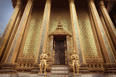 Phra Mondop Gates Stock Photo