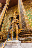 Phra Mondop guardian Stock Photography