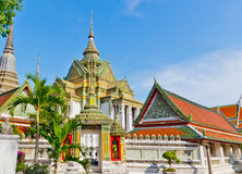 Phra Mondop (Hor Tri Jaturamuk) in Wat Pho Royalty Free Stock Photography